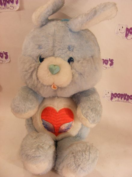 "VINTAGE 12"" SWIFTHEART RABBIT CARE BEARS COUSIN"